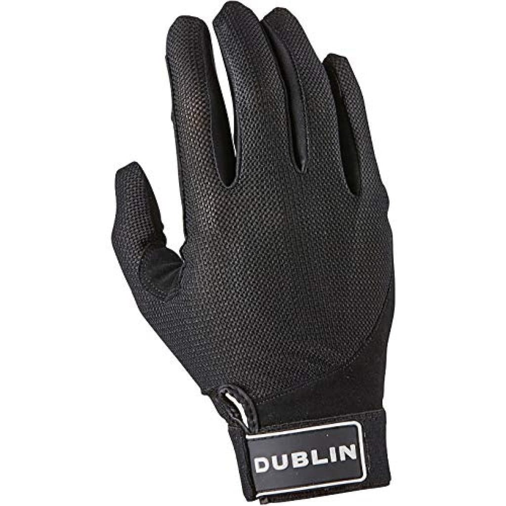 Dublin Reithandschuhe »Herren Reitsporthandschuhe mit Netzeinsätzen und Klettverschluss«