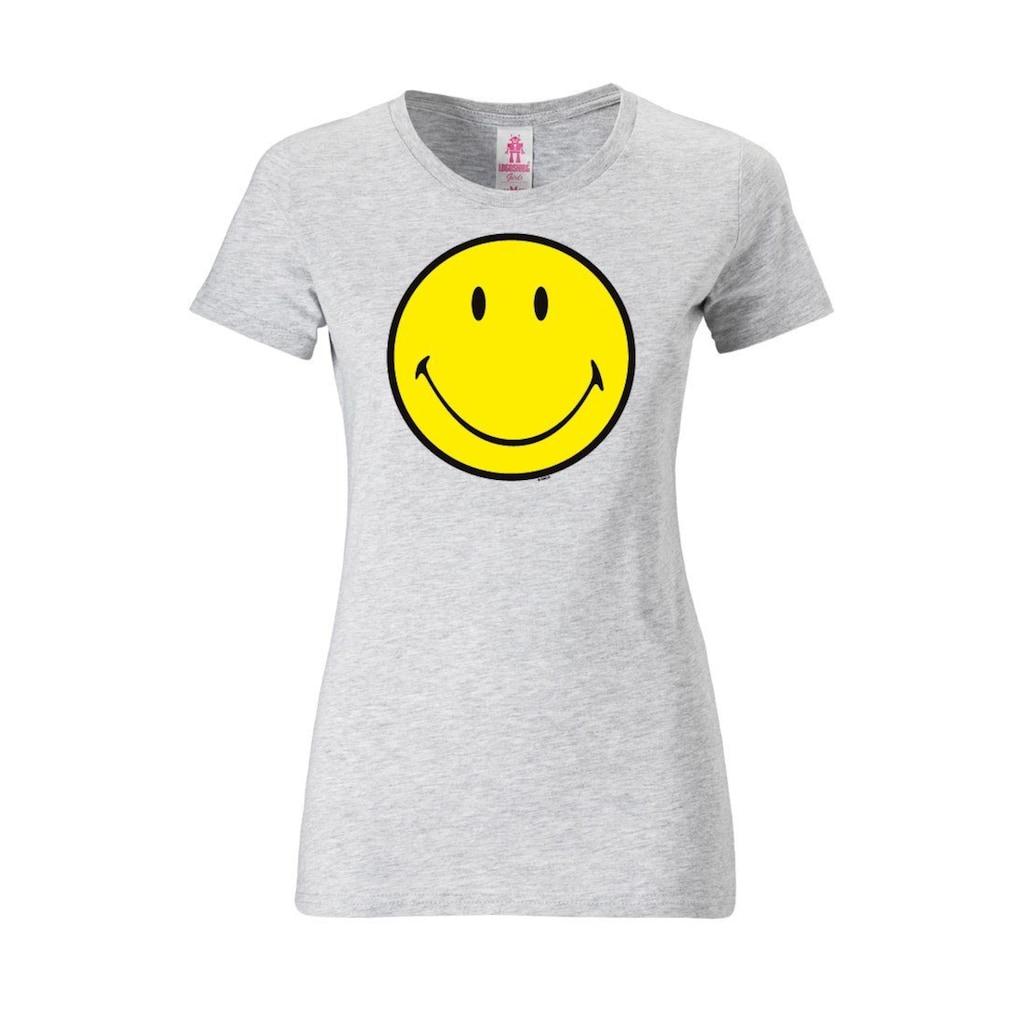 LOGOSHIRT T-Shirt »Original Smiley Face«