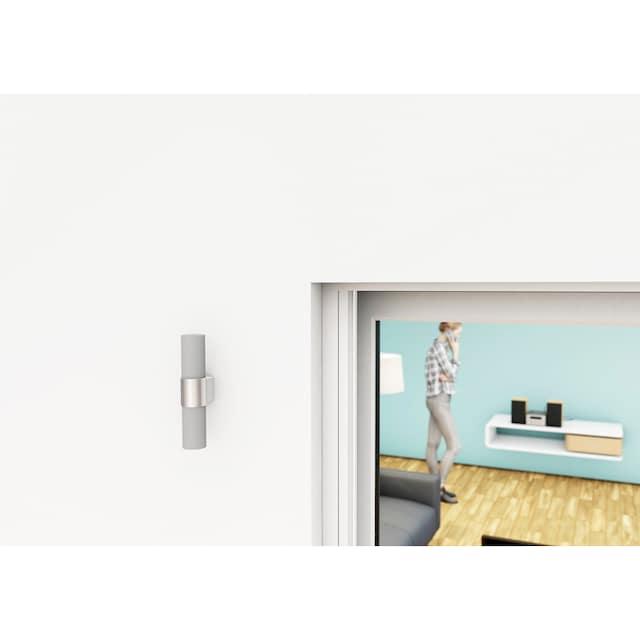 HECHT Insektenschutz-Tür weiß/anthrazit, BxH: 125x220 cm
