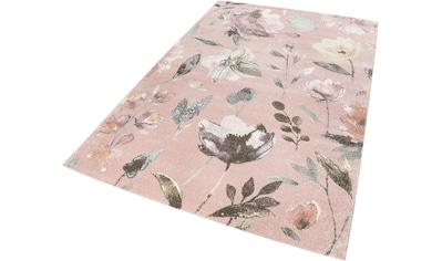 Wecon home Teppich »Summer Breeze«, rechteckig, 13 mm Höhe, Wohnzimmer kaufen