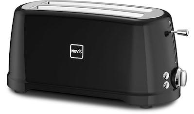 NOVIS Toaster »T4 schwarz«, 1600 Watt kaufen