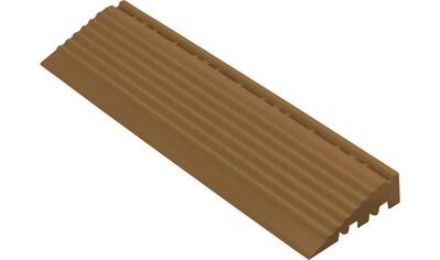 FLORCO Kantenleisten Seitenteil braun mit Öse, 30 cm kaufen