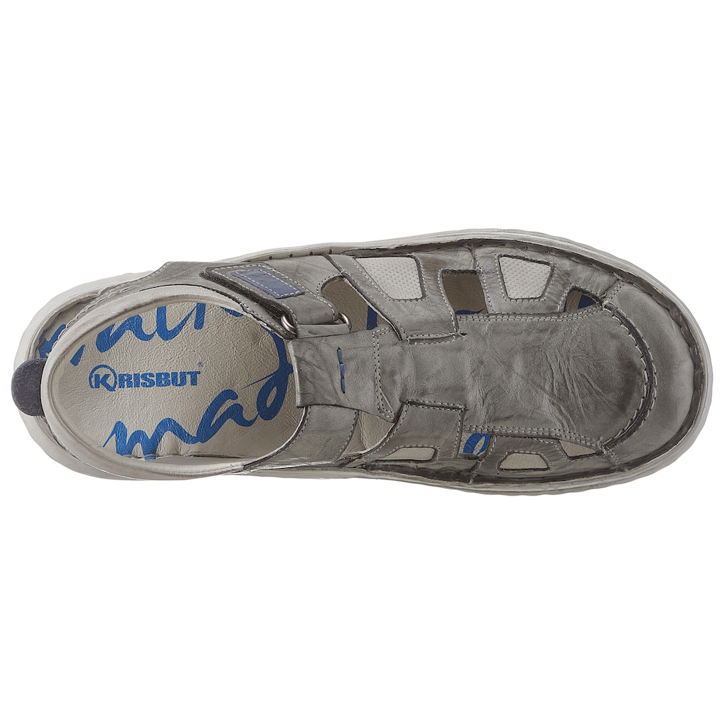 KRISBUT Sandale, im Used-Look