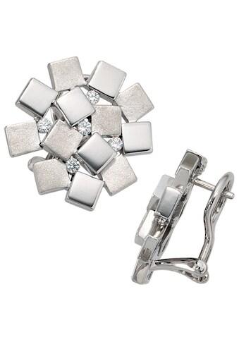 JOBO Paar Ohrstecker, 925 Silber mit 10 Zirkonia kaufen