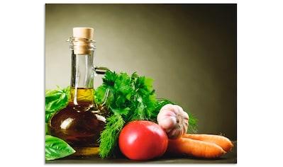 """Artland Küchenrückwand """"Gesundes Gemüse und Gewürze"""", (1 - tlg.) kaufen"""