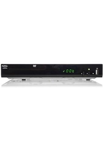 Xoro »HSD 8470« DVD - Player (DVD - Player mit USB - Anschluß) kaufen