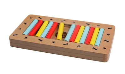 SILVIO design Tier-Intelligenzspielzeug »Play Box«, Holz, BxTxH: 28,5x15x2,7 cm kaufen