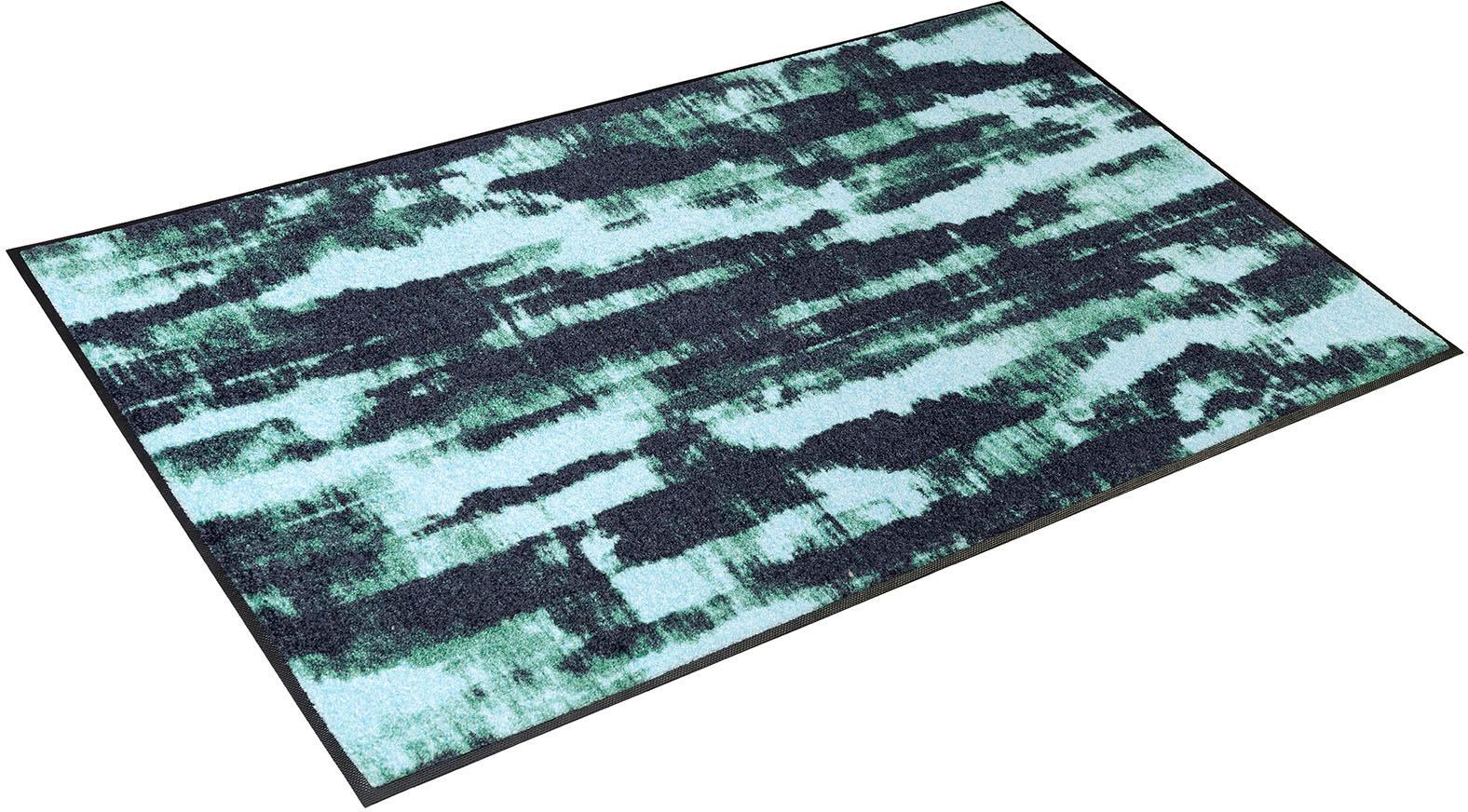 Teppich Fusion wash+dry by Kleen-Tex rechteckig Höhe 7 mm gedruckt