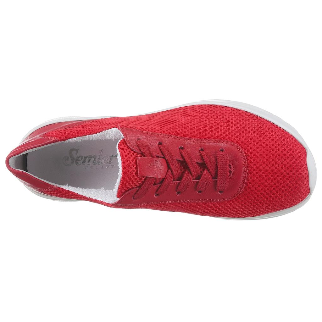 Semler Keilsneaker »SIGGI«, in Komfortschuhweite H (=sehr weit)