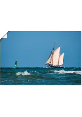 Artland Wandbild »Segelschiff auf der Ostsee«, Boote & Schiffe, (1 St.), in vielen... kaufen