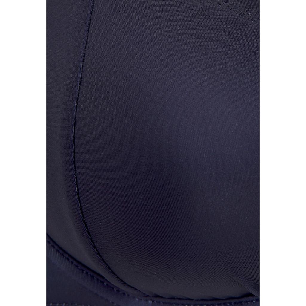 LASCANA Bügel-Bikini-Top »Camilla«, mit Farbkontrast