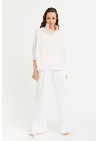 Finn Flare Klassische Bluse »-«, im stylischen Oversize-Schnitt kaufen