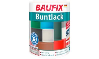 Baufix Acryl-Buntlack, 1 Liter, grau kaufen