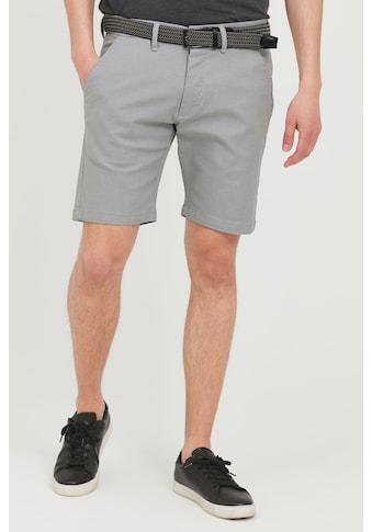 Indicode Chinoshorts »Lozano«, Chino Shorts mit Gürtel kaufen