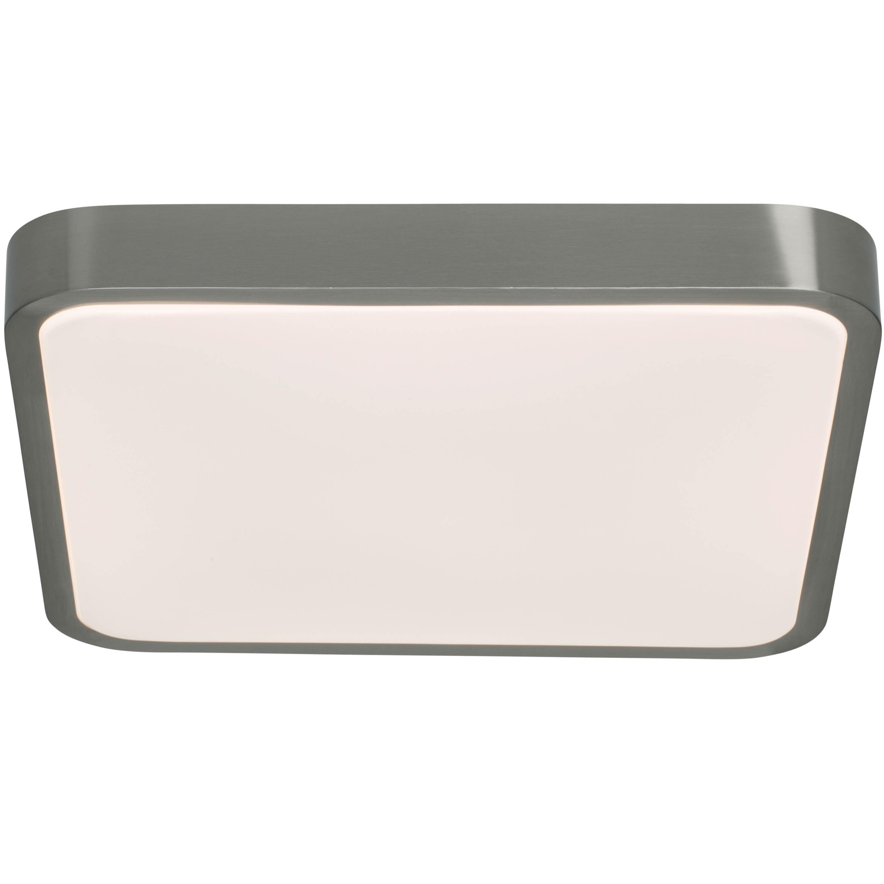 AEG Mikel LED Deckenleuchte 38x38cm eisen/weiß