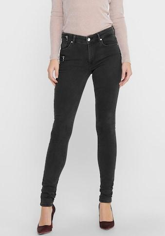 Only Skinny-fit-Jeans »ONLCARMEN LIFE«, mit Zipper Details kaufen