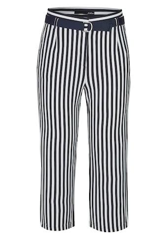 LeComte Hose mit Streifen und Gürtel kaufen