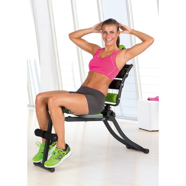 VITALmaxx Fitnesstrainer Swing Stepper mit 2 Expanderb/ändern Maximale Belastung ca schwarz 100 kg Mit h/öhenverstellbarem Handgriff Trainiert die Beinmuskeln und f/ördert die Ausdauer
