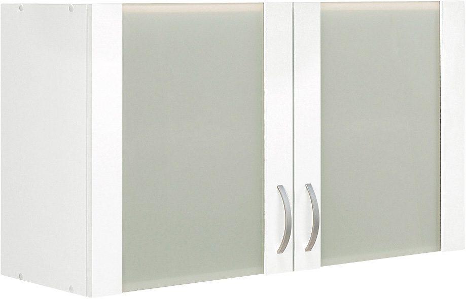 Glashänger Flexi Breite 100 cm   Wohnzimmer > Schränke > Hängeschränke   Weiß