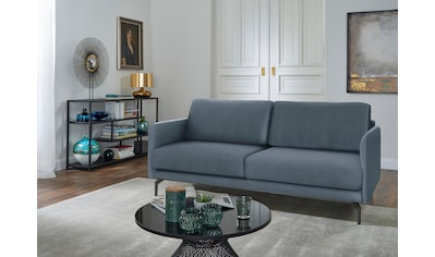 hülsta sofa 2-Sitzer »hs.450«, Armlehne sehr schmal, Breite 150 cm, Alugussfuß... kaufen