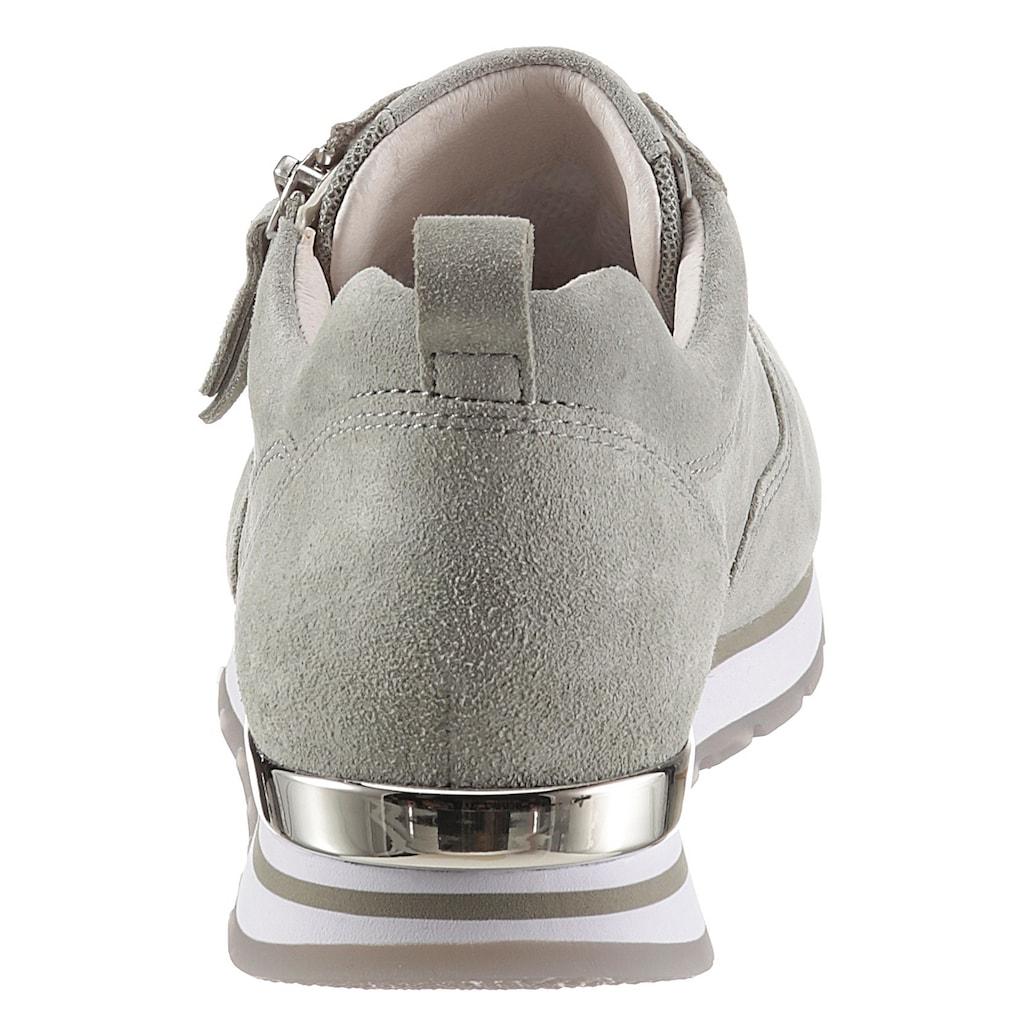 Gabor Keilsneaker »YORK«, mit Außenreißverschluss