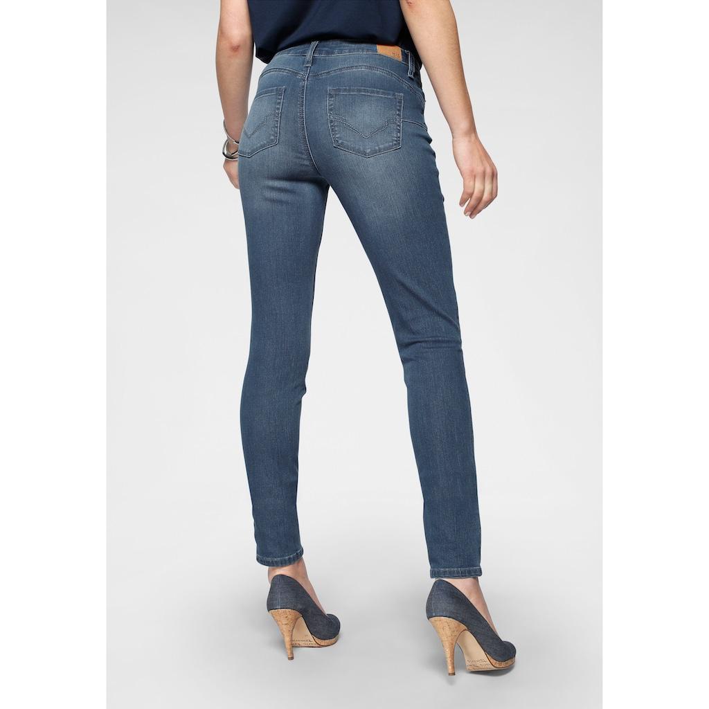 H.I.S Skinny-fit-Jeans »Shaping Regular-Waist mit Push-up Effekt«, Nachhaltige, wassersparende Produktion durch OZON WASH