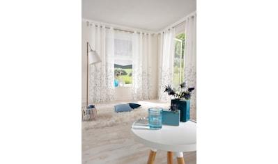 my home Gardine »Yalinga«, Vorhang, Fertiggardine, transparent kaufen