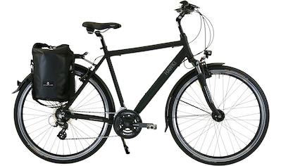 HAWK Bikes Trekkingrad »HAWK Trekking Gent Premium Plus Black«, 24 Gang Shimano Altus Schaltwerk kaufen