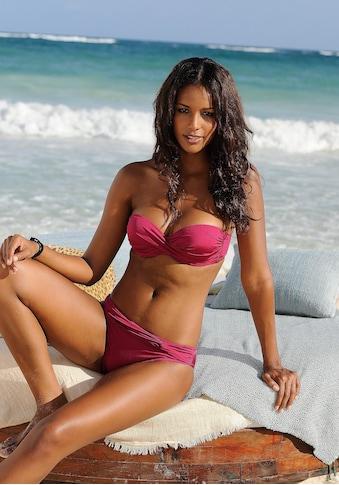 LASCANA Bügel-Bandeau-Bikini, mit verschiedenen Trägervarianten kaufen