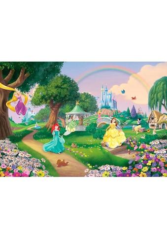 Komar Fototapete »Disney Princess Rainbow«, bedruckt-Comic, ausgezeichnet lichtbeständig kaufen