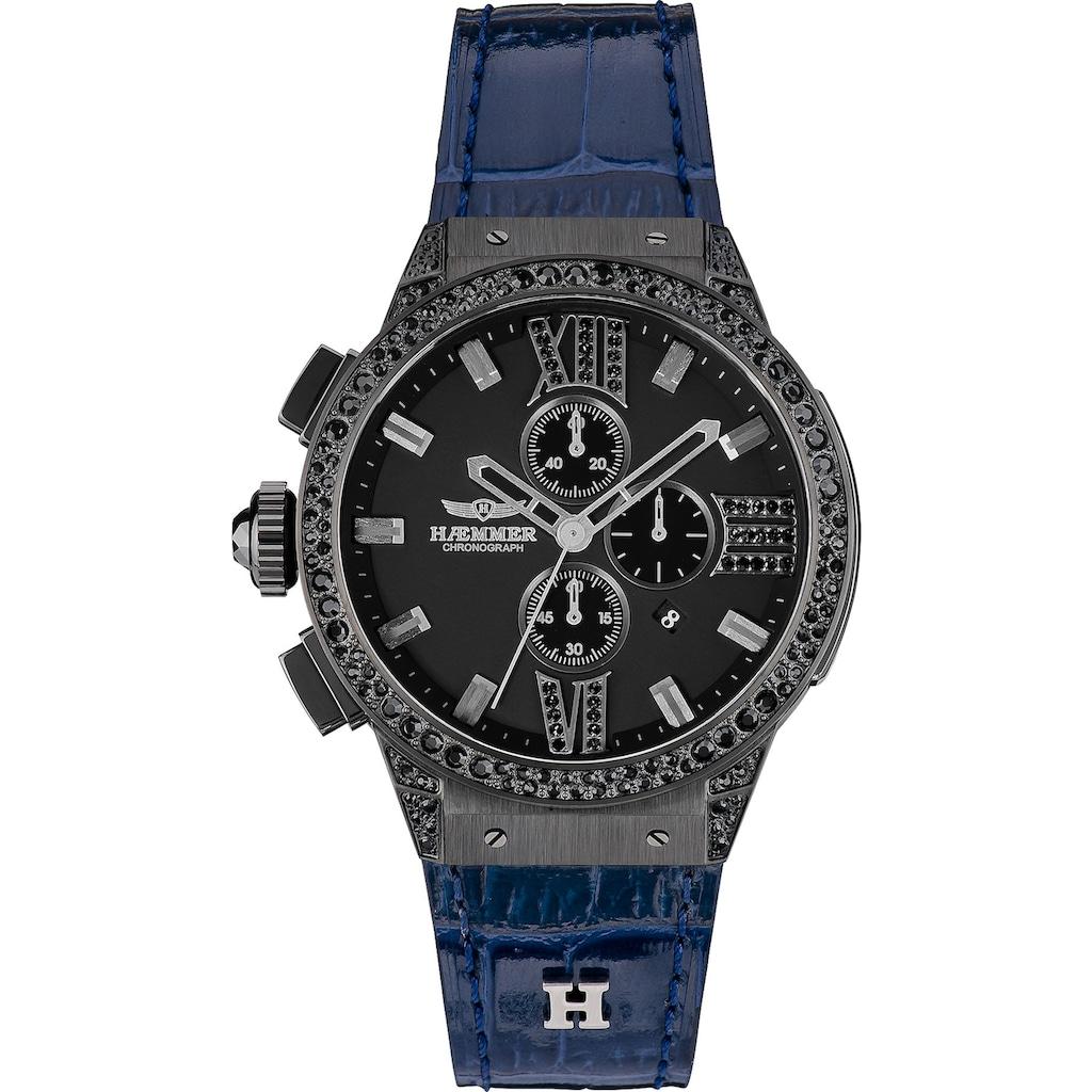 HAEMMER GERMANY Chronograph »BLUE LIGHT, E-002-B«