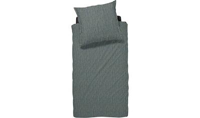 damai Bettwäsche »FLÖDE«, mit unregelmäßigen Streifen kaufen