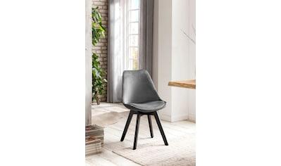 SalesFever Esszimmerstuhl, mit Wabensteppung auf der Rückseite kaufen