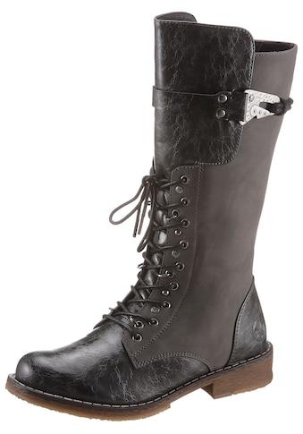 Rieker Stiefel, im Materialmix kaufen