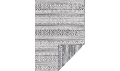 andas Teppich »Edgar«, rechteckig, 5 mm Höhe, Wendeteppich, In- und Outdoor geeignet, Wohnzimmer kaufen