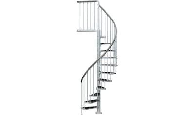 DOLLE Außentreppe »Gardenspin«, Ø: 155 cm, für Geschosshöhen bis 282 cm, TRIMAX® - Stufen kaufen