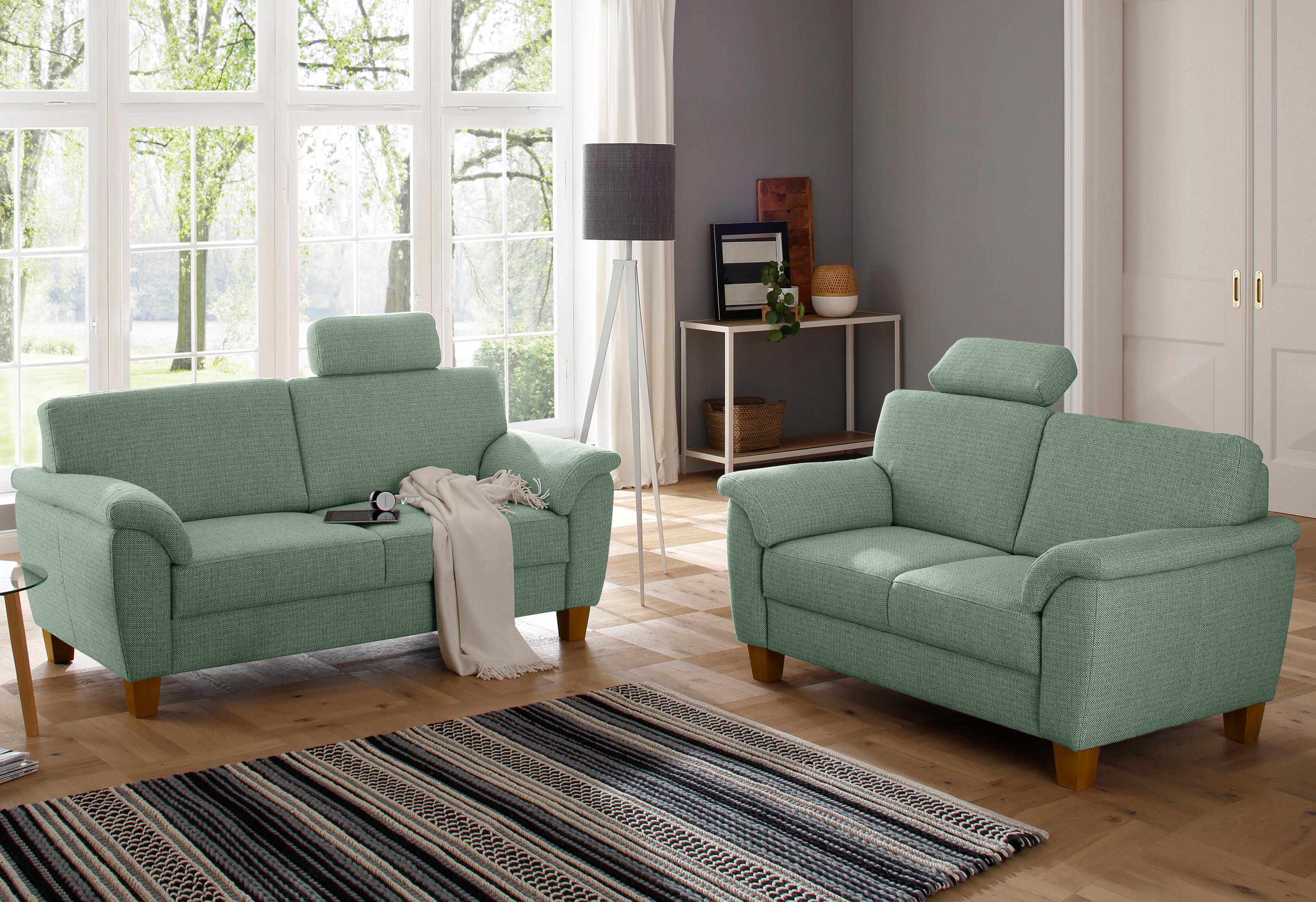 Home affaire 2- + 3-Sitzer »Alta« als Set, mit Federkern und Kontrastnaht
