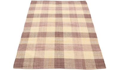 Teppich, »Kelim Ella«, carpetfine, rechteckig, Höhe 5 mm, handgewebt kaufen