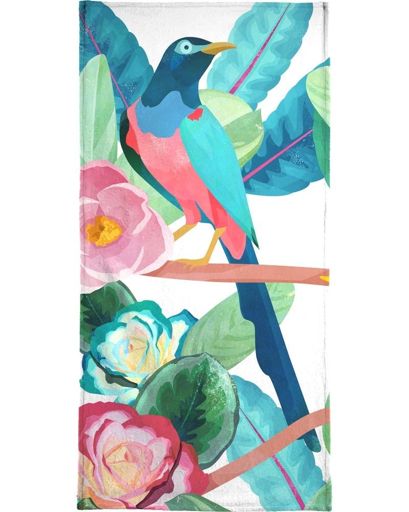 Handtuch »Birds«, Juniqe