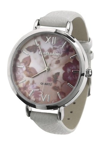Armbanduhr mit floralem Ziffernblatt kaufen