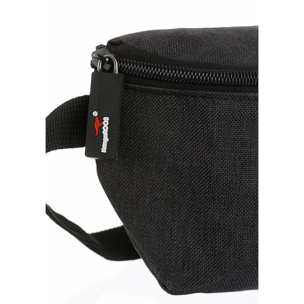 KangaROOS Gürteltasche, mit praktischem Reißverschluss-Rückfach