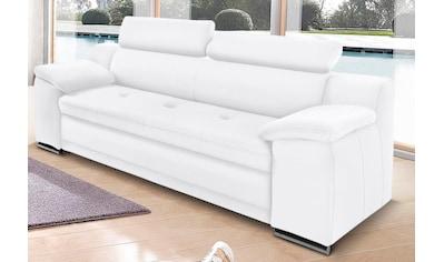 sit&more 3-Sitzer, inklusive Kopfteilverstellung kaufen