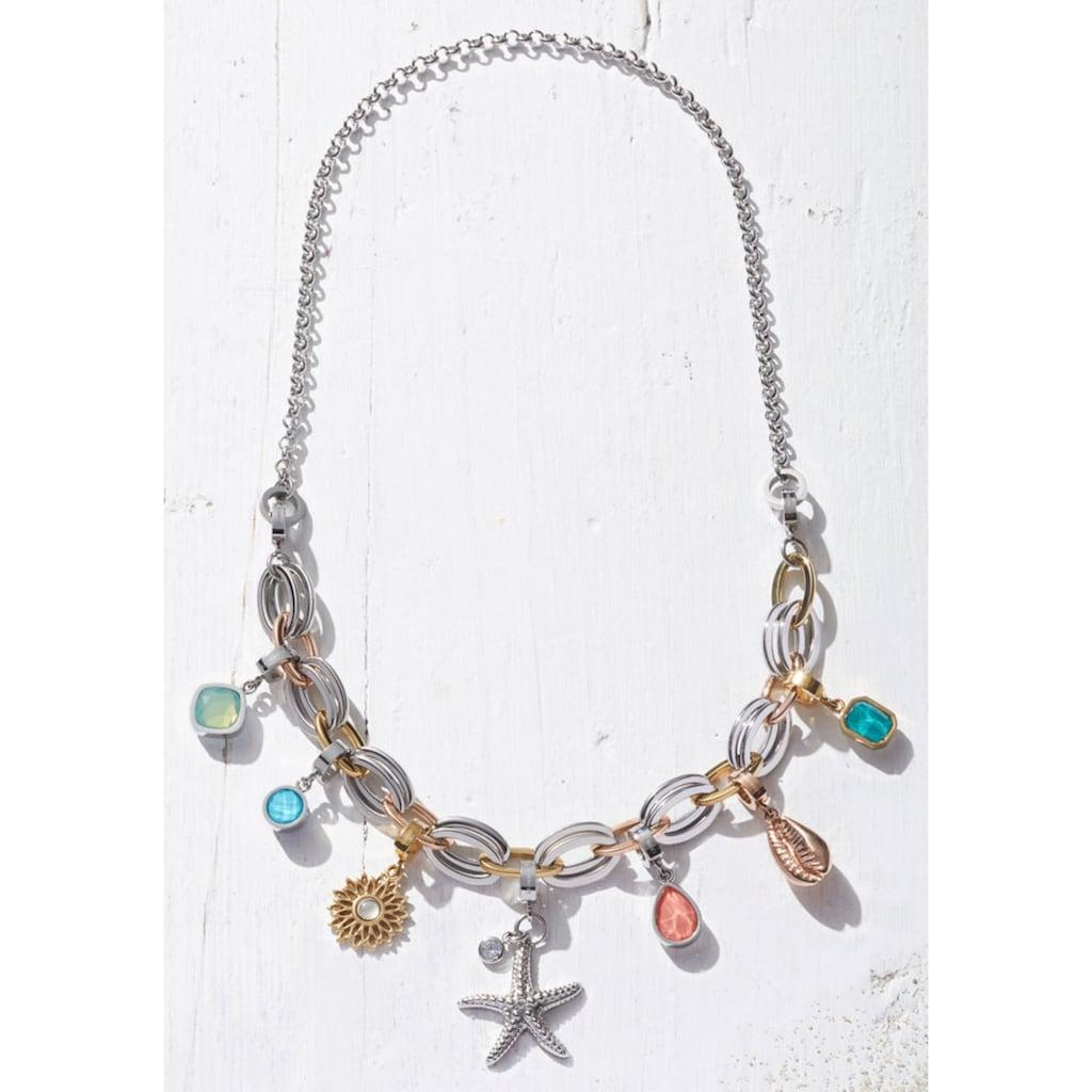 LEONARDO Charm-Einhänger »Darlin's, 017980«, mit Kristallsteinen
