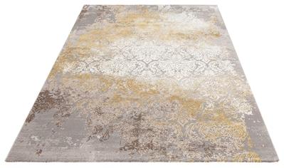 Leonique Teppich »Alisa«, rechteckig, 12 mm Höhe, Hoch-Tief-Effekt, Wohnzimmer kaufen