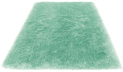 Hochflor - Teppich, »Lasse«, Leonique, rechteckig, Höhe 76 mm, handgetuftet kaufen
