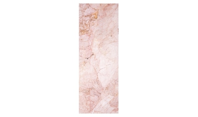 QUEENCE Vinyltapete »Marmor - Rosa«, 90 x 250 cm, selbstklebend kaufen