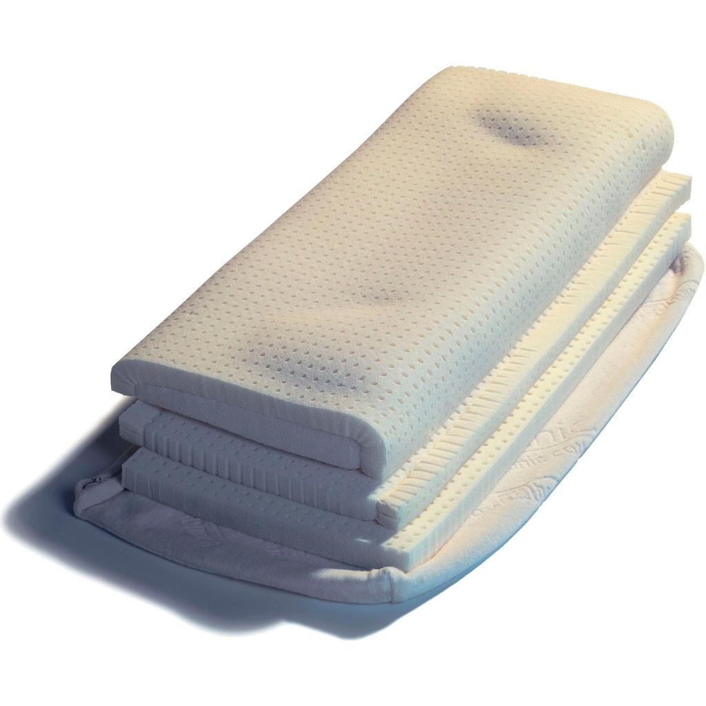 THOMSEN Nackenstützkissen »Orthopädisches Kissen TENCEL®«, (1 St.), für Bauchschläfer empfohlen; Füllung: Talalay Latex