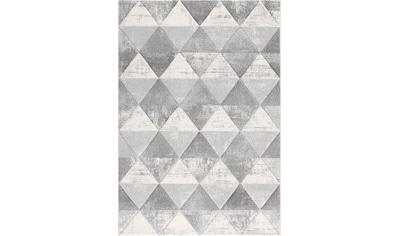 Sanat Teppich »Lorena 2905«, rechteckig, 13 mm Höhe, handgearbeiteter Konturenschnitt, Wohnzimmer kaufen
