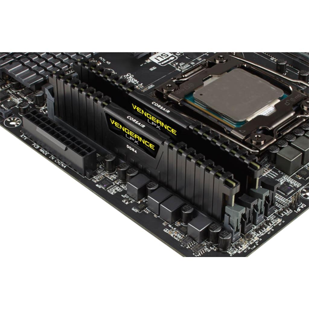 Corsair PC-Arbeitsspeicher »VENGEANCE® LPX 16GB (2 x 8GB) DDR4 DRAM 3600MHz C18 AMD Ryzen«