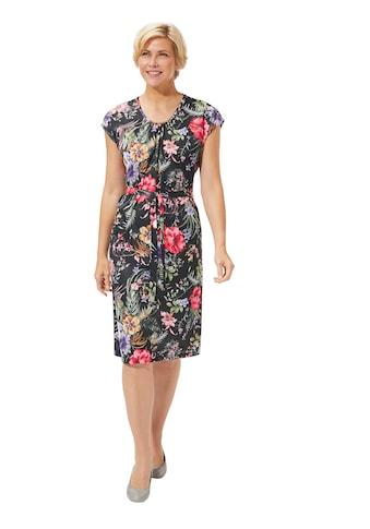 Classic Basics Jersey - Kleid mit floralem Design kaufen
